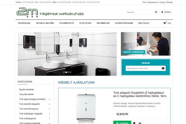 2m Higiéniai webáruház