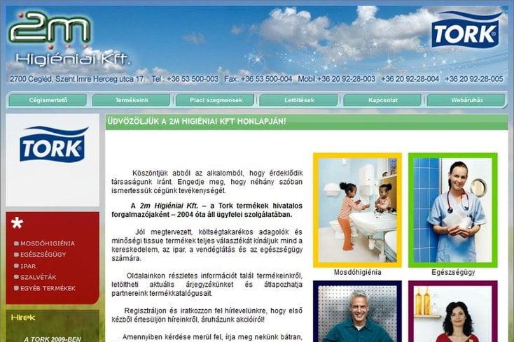 2m Kft. webáruház