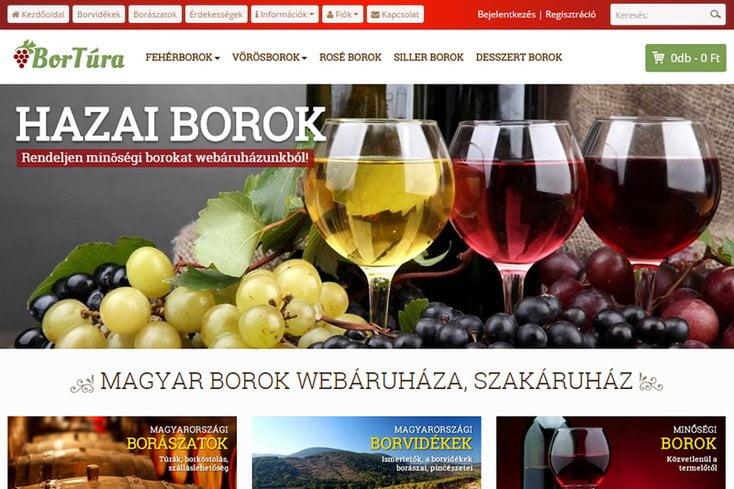 Bortúra webáruház
