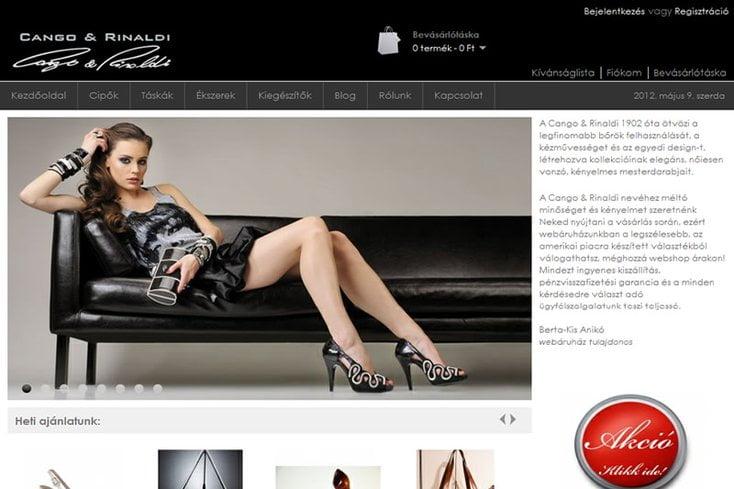 CR webáruház