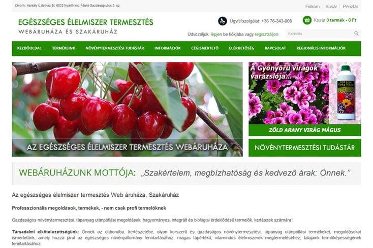 Műtrágya.hu – Az egészséges élelmiszer termesztés webáruháza