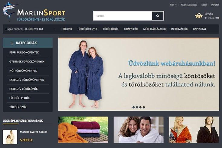MarlinSport webáruház