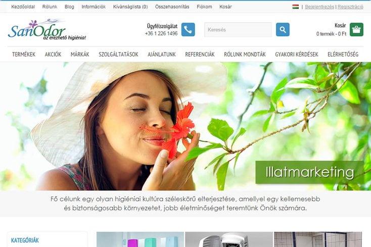 SanOdor webáruház