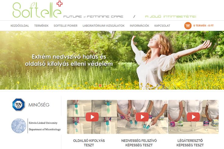 Softelle webáruház
