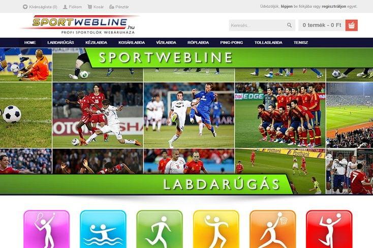 SportWebline webáruház