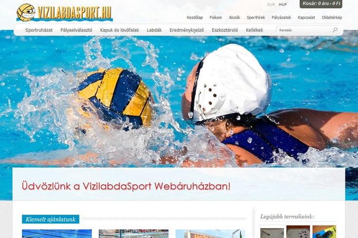 Vízilabda Sport webáruház