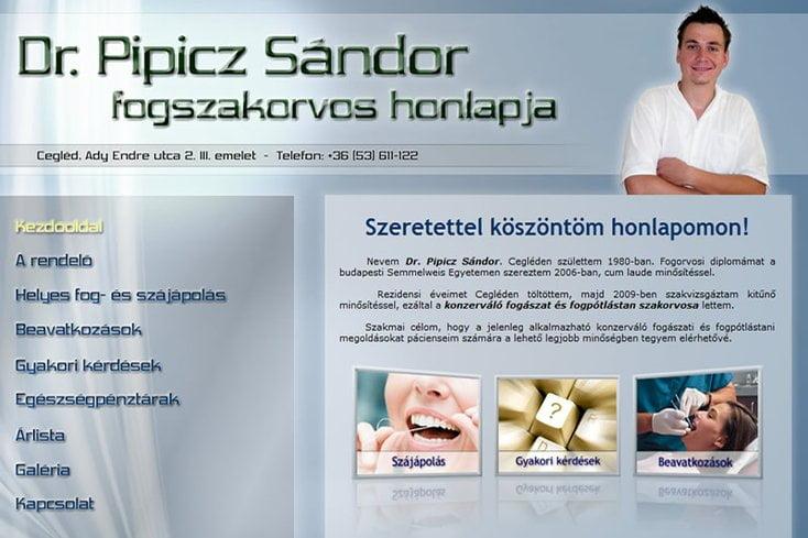 Dr. Pipicz Sándor fogorvos