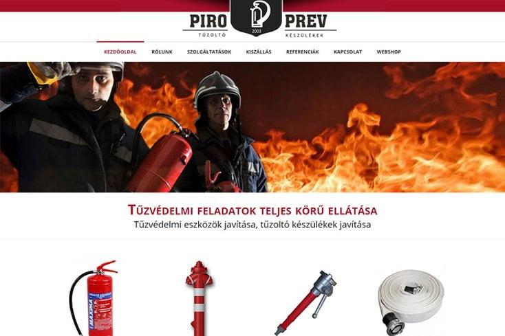 Piro Prev – tűzoltókészülék javítás