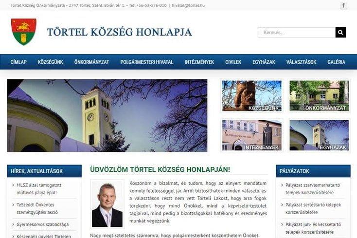 Törtel község honlapja