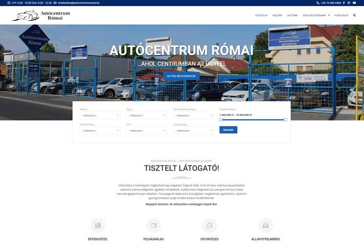 Autócentrum Római